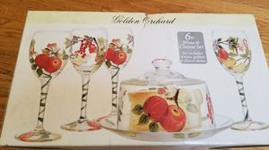 Golden Orchard 6 pc wine and cheese set for Sale in Annandale, VA