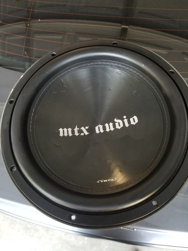 Mtx Audio Tr7512 44 Model Tr75 For Sale In Sacramento Ca Offerup