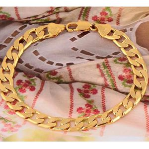 Gold plated chain link bracelet jewelry accessory Christmas gift for Sale in Silver Spring, MD