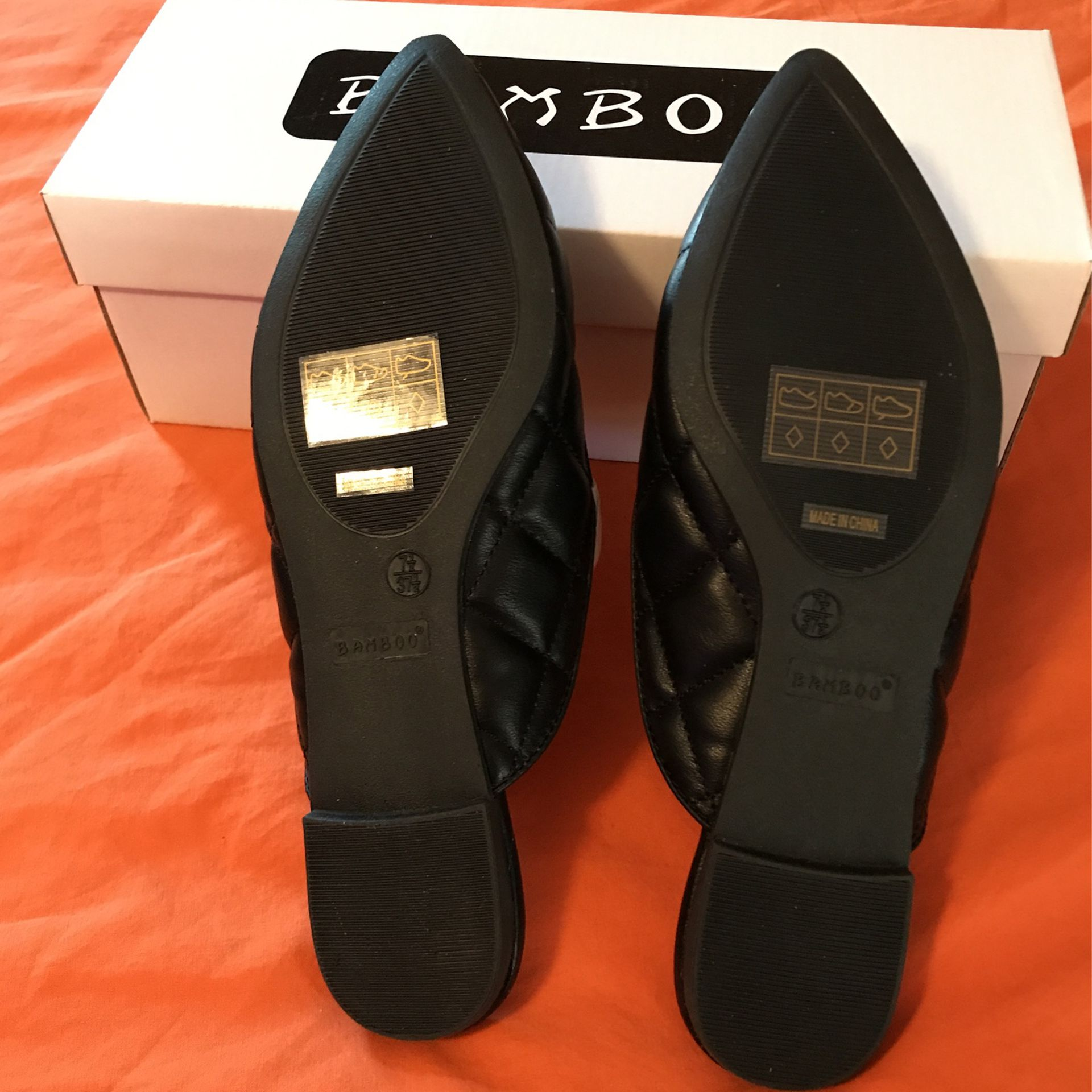 Bamboo Leather Loafer/Mule -Women's