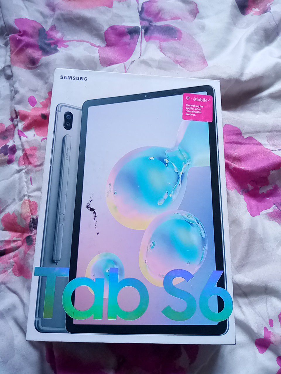 New Tablet S6 128GB