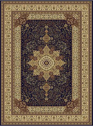 Brand new luxury soft silk traditional design area rug size 8x12 nice blue carpet Persian style rugs and carpets for Sale in Fairfax, VA