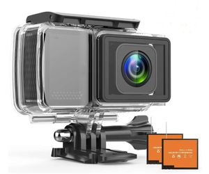 Photo Brand New Seal in Box PRO 4K Action Camera 2.45 LCD Touchscreen Underwater Camera with 16MP Image Sensor Waterproof Sports Cam and 170° Wide-Angle L
