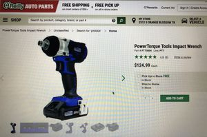 Impact Wrench power torque for Sale in Orlando, FL