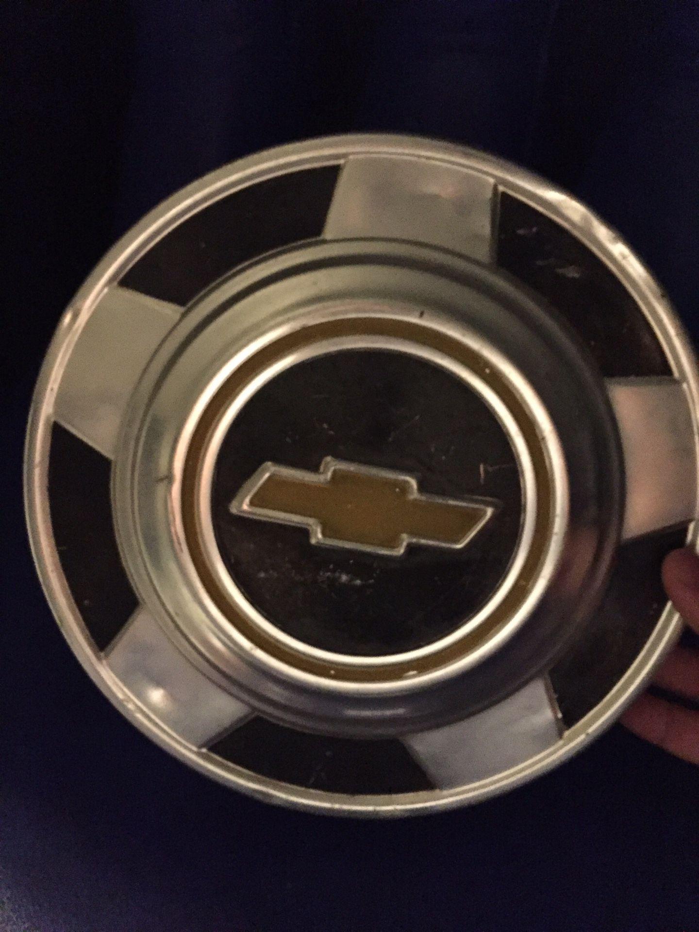 Chevy 5 star hub caps