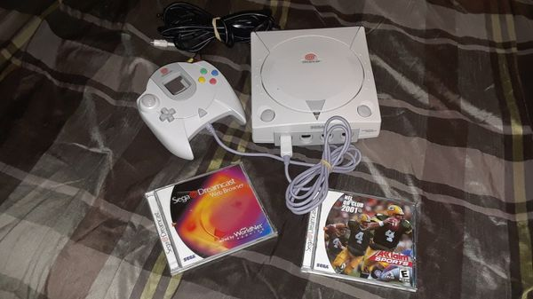 Sega Dreamcast w/1 controller 2 games for Sale in Metairie, LA - OfferUp