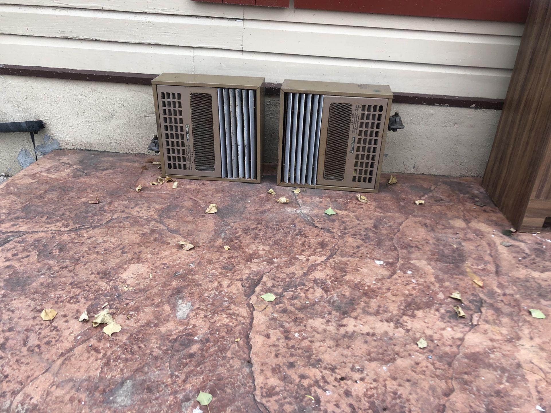 Wall Gas Heaters
