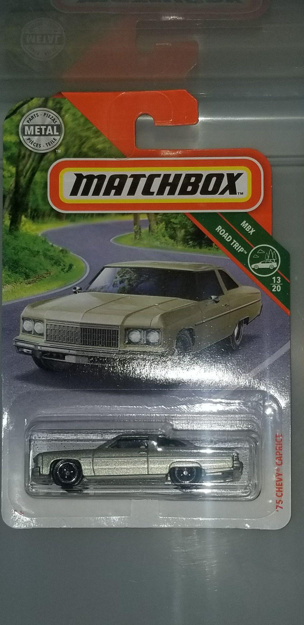 Matchbox 1975 chevy caprice