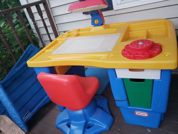 Little Tikes Art desk with swivel chair-SOLD for Sale in South Attleboro,  MA - OfferUp