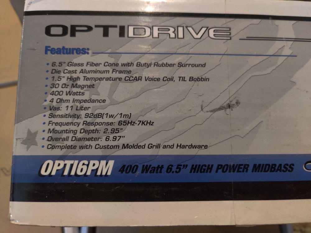 "High power 6.5"" midbass speaker"