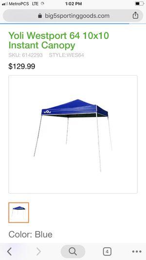 Yoli Westport 64 10x10 Instant Canopy for Sale in Henderson, NV - OfferUp