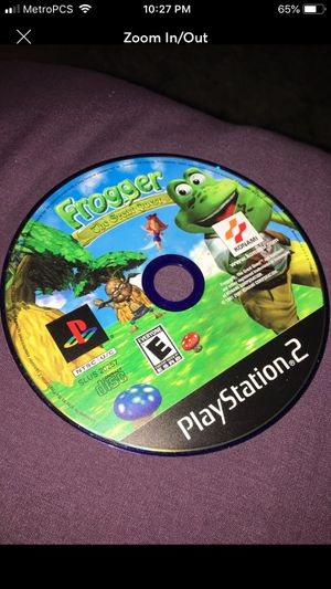 Frogger The Great Quest For PS2 for Sale in Fairfield, CA