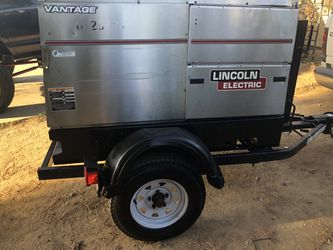 2013 Lincoln vantage 500 diesel 575A welder only 1494 hours Thumbnail