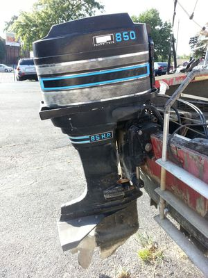 Mercury 85 hp outboard with power trim w title for Sale in St. Louis, MO