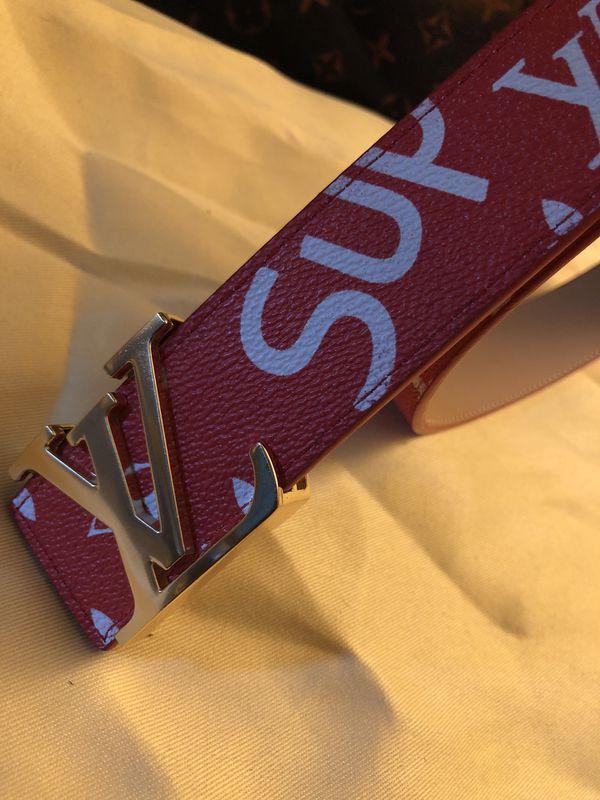 Louis Vuitton Supreme Belt