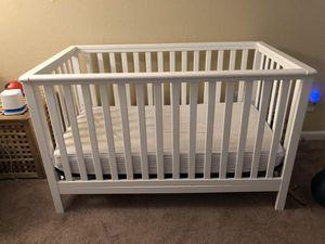 White baby crib. for Sale in Corona, CA