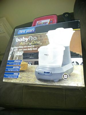Baby pro all in one baby food maker for Sale in Columbus, OH