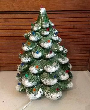 Vintage ceramic Christmas tree for Sale in Inwood, WV