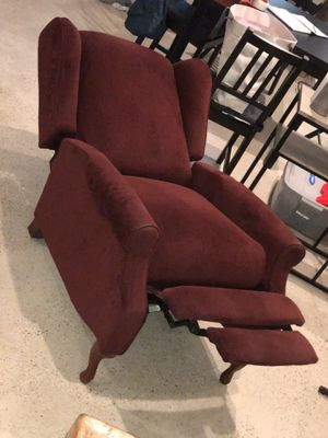 Raymour & Flanigan Microfiber Recliner for Sale in Washington, DC