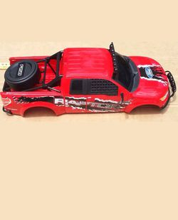 1/6 scale ford raptor body shell Thumbnail