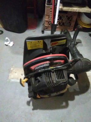 Homlite backpack blower for Sale in Florissant, MO