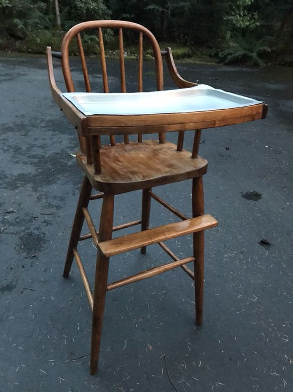 e1874086c0b0e Antique high chair for Sale in Issaquah