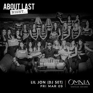 Lil Jon at Omnia Nightclub 🎉 for Sale in San Diego, CA