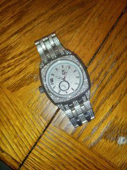 Men's Silver Watch  Thumbnail