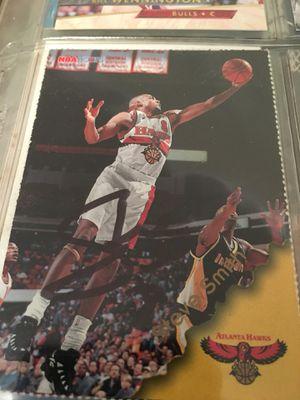Signed Steve Smith Basketball Card for Sale in Atlanta, GA