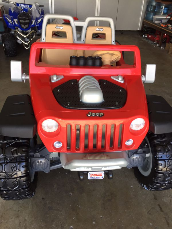 Red Jeep Hurricane 12volt Electric Kids Ride On Cars Wheels