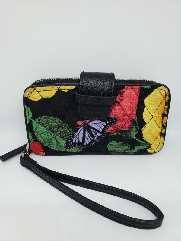 Vera Bradley wristlet wallet EUC for Sale in Austin 88173fd8b4837