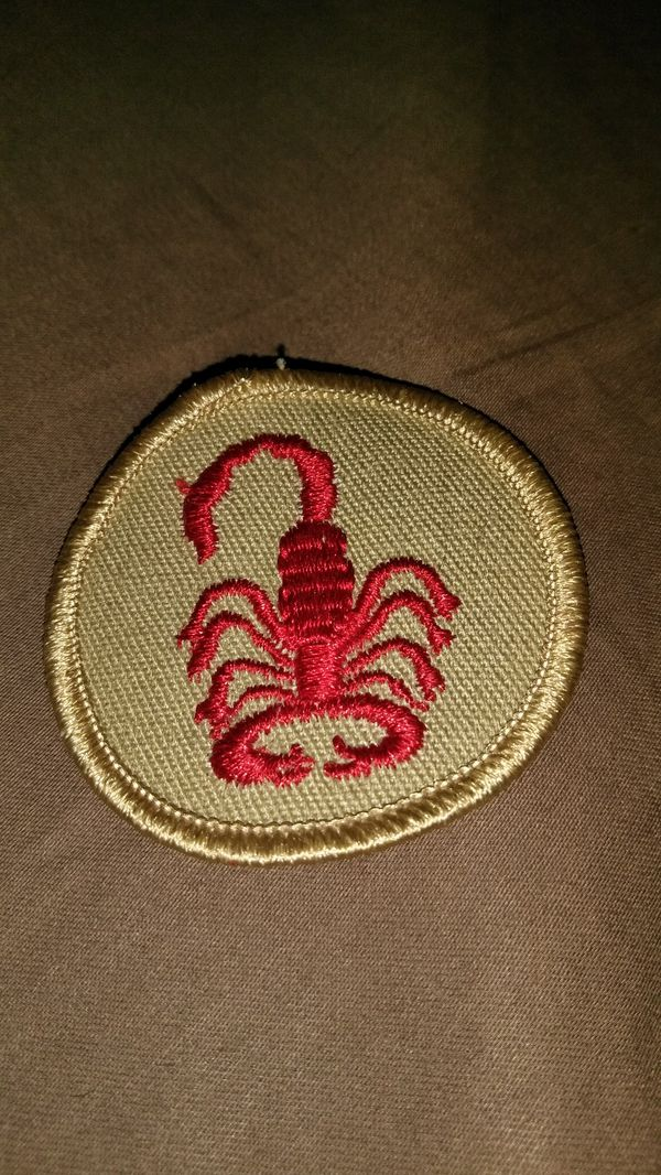 2 Inch Cool Red Scorpion Sewing Patch For Sale In Tulsa Ok Offerup