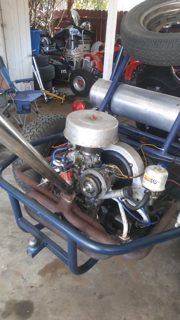 Just engine not the sand rail Vw bug or buggy 1600cc single port engine  starts right up for Sale in Spring Valley, CA - OfferUp