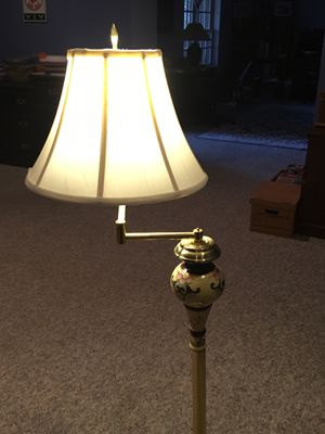 Floor lamp - Cloisonné style for Sale in NO POTOMAC, MD