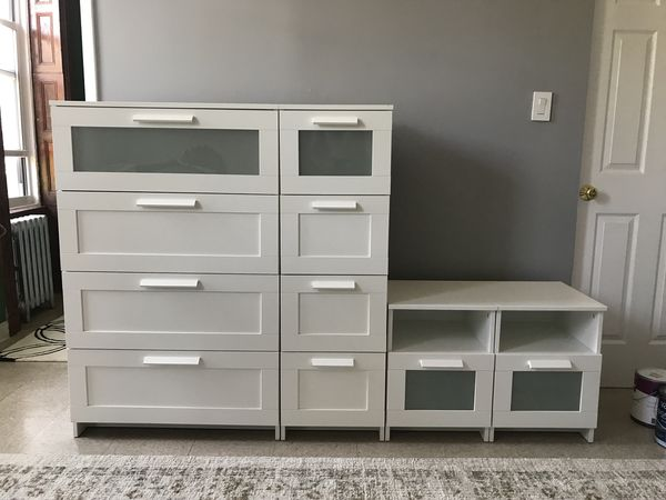 IKEA BRIMNES BEDROOM FURNITURE COLLECTION for Sale in Brooklyn, NY ...
