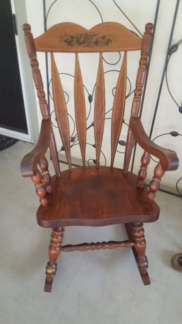 Vintage Rocking Chair For Sale In Bakersfield Ca Offerup