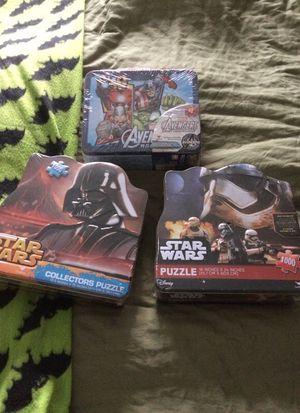 Collectors Puzzles- Star Wars for Sale in Atlanta, GA