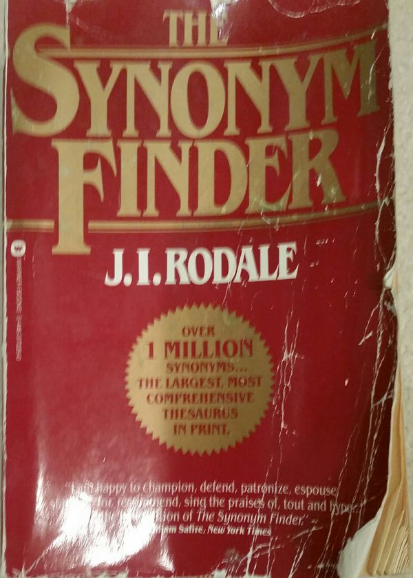 The Synonym Finder by J I  Rodale for Sale in Corona, CA - OfferUp