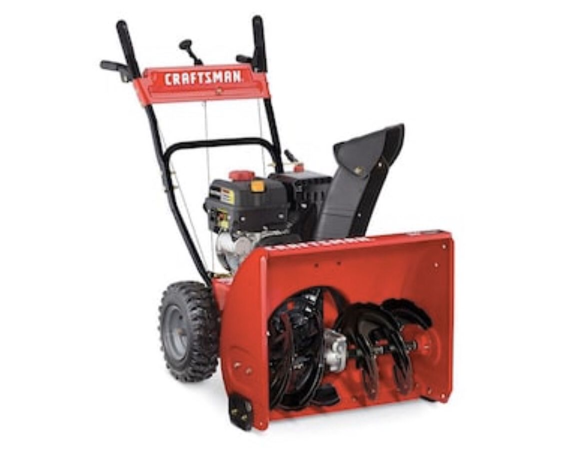 CRAFTSMAN SB410 24-in Two-stage Self-propelled Gas Snow Blower
