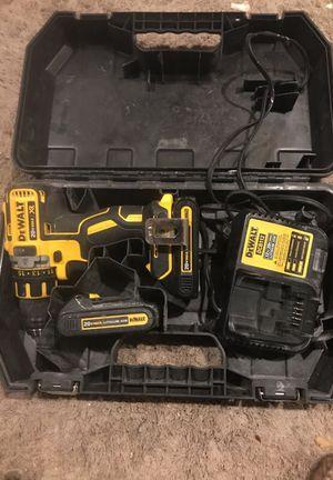 Dewalt 20v xr brushless drill driver kit for Sale in Silver Spring, MD