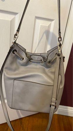 Michael Kors grey leather bag Thumbnail