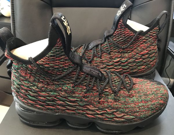 096091c2b042 Lebron 15 BHM Size 12 for Sale in Canton