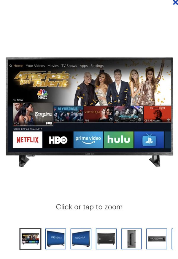 """fe8c36a0cee Insignia™ - 43"""" Class – LED - 2160p – Smart - 4K UHD TV with HDR – Fire TV  Edition"""