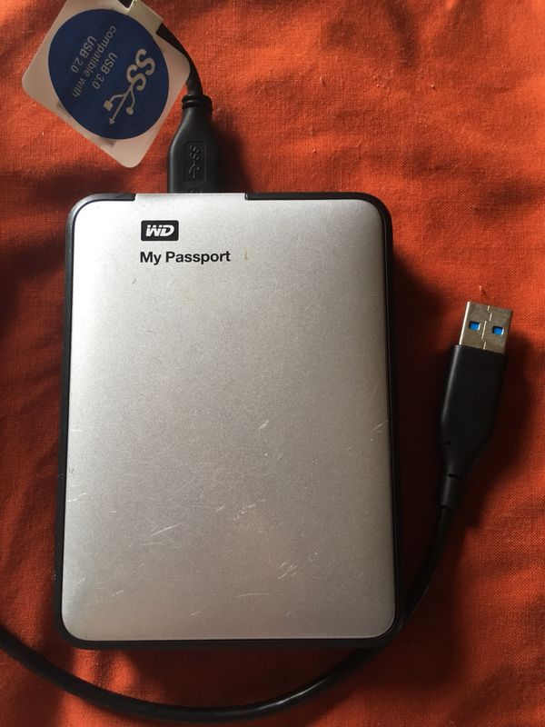 WD My Passport 2TB Portable hard drive for Sale in Akron, OH - OfferUp
