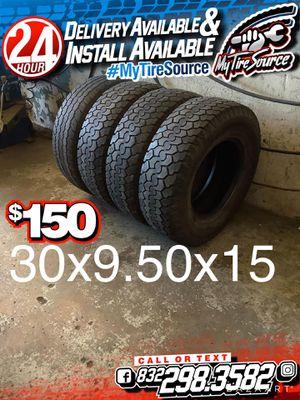 Photo 30x9.50x15 tires