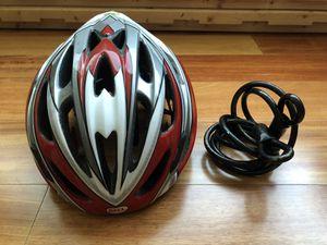 Bike helmet with lock for Sale in Jersey City, NJ
