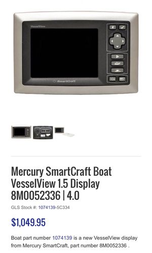 Mercury SmartCraft VesselView - 8M0052336 for Sale in Boca Raton, FL -  OfferUp