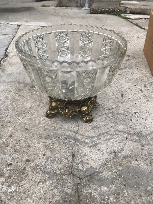 Cystal punch bowl for Sale in Houston, TX