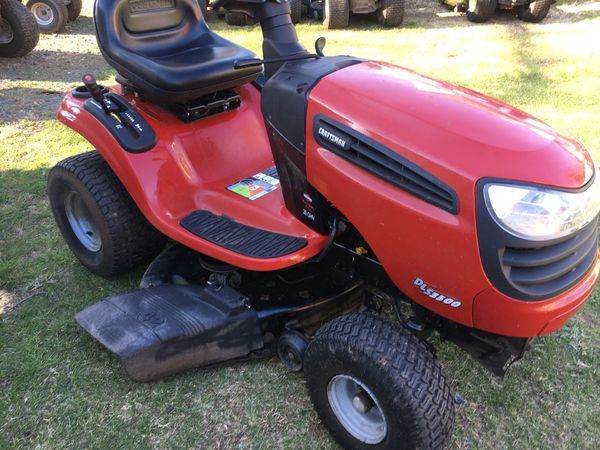 2007 Craftsman Dls 3500 Lawn Tractor With Bagger For In
