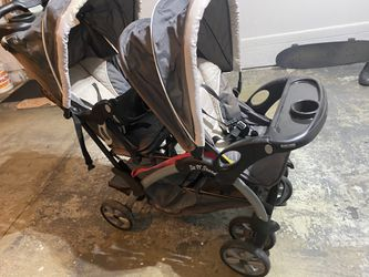 Stroller Double And Stand Thumbnail